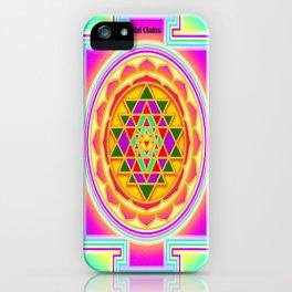 Shri Chakra iPhone Case