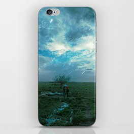 Marss & The Moon {Of the sea} iPhone Skin