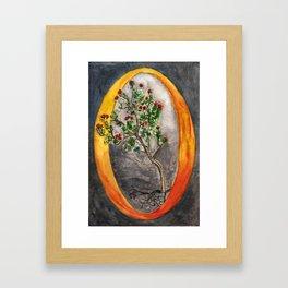 O is for Ohia Framed Art Print