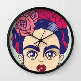Frida stickers Wall Clock