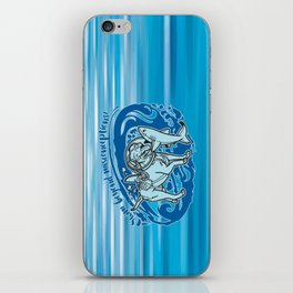 Lexy & Bruce - Swim beyond misconceptions! iPhone Skin