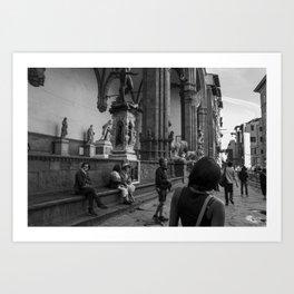 Exploring Florence Art Print