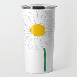 Daisy Illustration Travel Mug