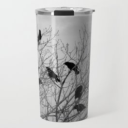 Murder Of Crows - Two Travel Mug