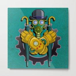 The League of Steam Gentlemen Metal Print