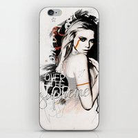 supreme iPhone & iPod Skins featuring Supreme by Bungo Design
