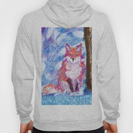 Calm Winter Fox Hoody