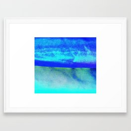 Earth and Sky Framed Art Print