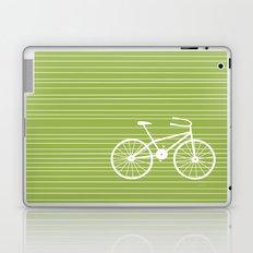 Green Bike Laptop & iPad Skin