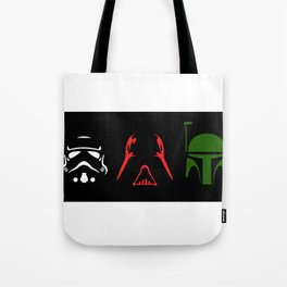 Star Wars Silhouettes Tote Bag
