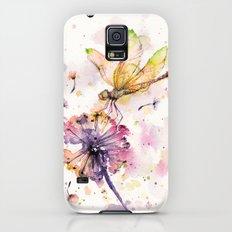 Dragonfly & Dandelion Dance Slim Case Galaxy S5