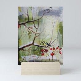 A winter tree Mini Art Print