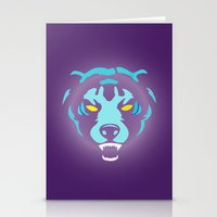 fierce Stationery Cards featuring Fierce by MaNia Creations