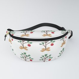 It's (not) such a lonely Christmas CB - Christmas Tree pattern Fanny Pack