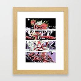 GIRLS ON FIRE  Framed Art Print