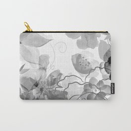 Rosie Outlook - grayscale Carry-All Pouch