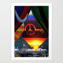 The Glow of Peace Art Print