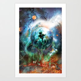 Planetseed Art Print