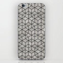 Random Concrete Cubes iPhone Skin