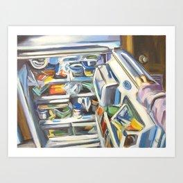 Complacency, Refrigerator Art Print