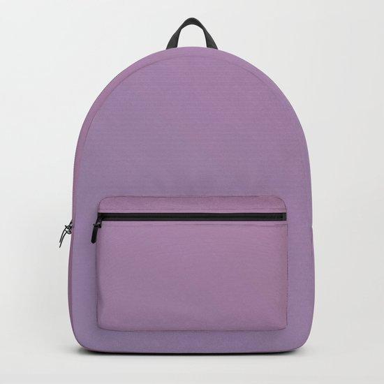 Soft Pink Purple Gradient Backpack