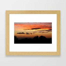 Kauai Sunset Framed Art Print