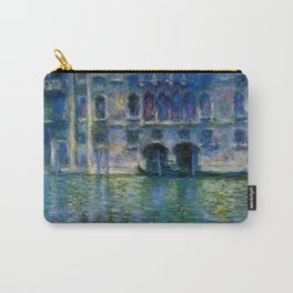 Claude Monet Palazzo da Mula, Venice Carry-All Pouch