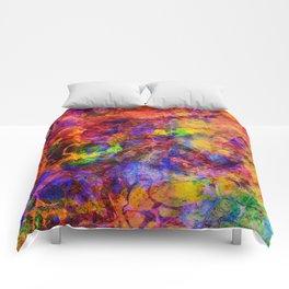 positive vibrations Comforters