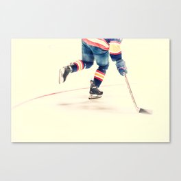 The Sport Of Hockey Canvas Print