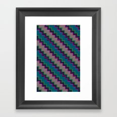Pixel Stack no.2 Framed Art Print