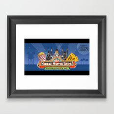 The Great Movie Ride Framed Art Print