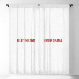 Delete The Drama Blackout Curtain