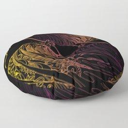 CRZ WAVE Floor Pillow