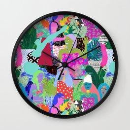 Sisters of Earth Wall Clock