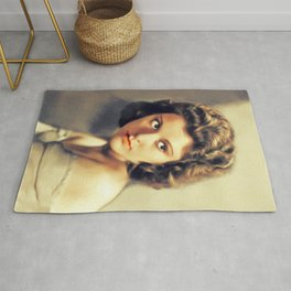 Lillian Roth, Vintage Actress and Singer Rug