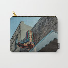 Boot Shop Neon Sign Carry-All Pouch