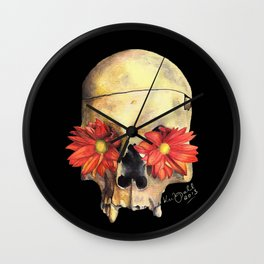 Beauty in Death Wall Clock