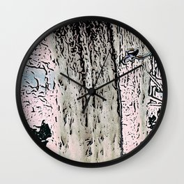 "series waterfall ""Cachoeira Grande"" I Wall Clock"