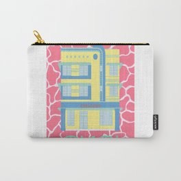 Miami Landmarks - Crescent Carry-All Pouch