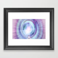 The Search of Light Framed Art Print