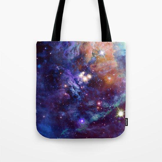 Bright nebula Tote Bag