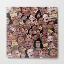 Dwight Schrute Metal Print