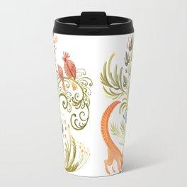 fox and partridges Travel Mug