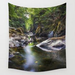Summer At Fairy Glen Wall Tapestry