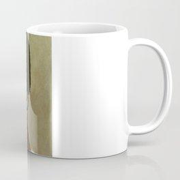 Hope and Fear Held Back Coffee Mug