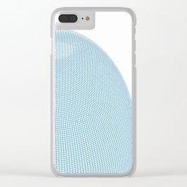 Wire Globe Clear iPhone Case