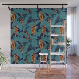Heliconia Wall Mural
