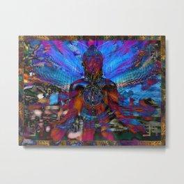 Hopi Buddha Metal Print