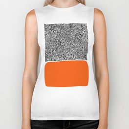 City Sunset Abstract Biker Tank