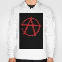 sons of anarchy Hoodies featuring Anarchy by brett66